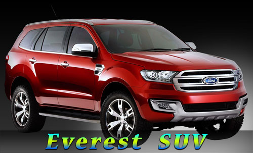 The New Ford Everest SUV for our Guests to travel from and to Bangkok City or Suvarnabhumi or Don Muang Airport or Pattaya or Utapao Airport.
