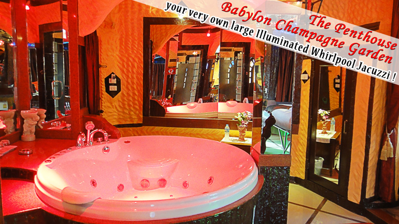 The penthouse babylon champagne garden suite is here book for Katzennetz balkon mit hotel pattaya garden thailand