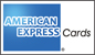 American Express Credit Card is accepted by telephone, followed by confirmation of Booking Requirements and authority to debit